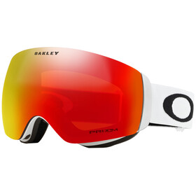 Oakley Flight Deck XM Snow Goggles Dame matte white/prizm torch iridium